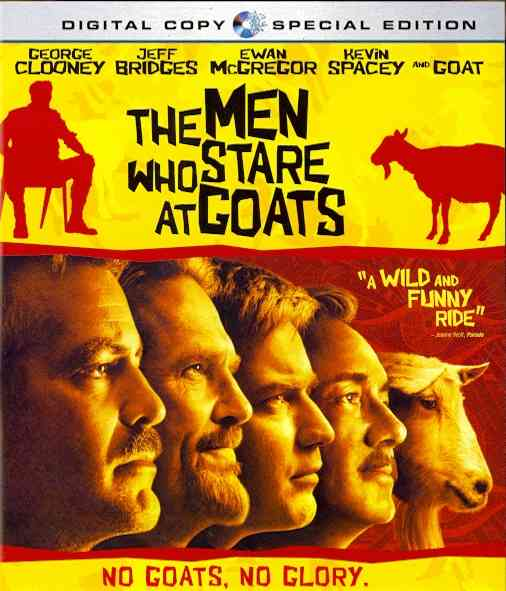MEN WHO STARE AT GOATS BY CLOONEY,GEORGE (Blu-Ray)